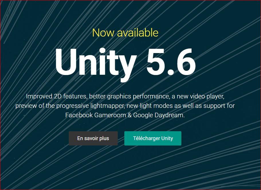 Unity 5.6