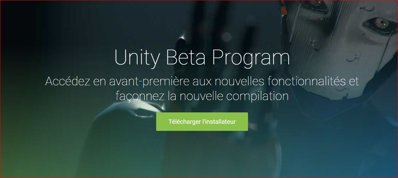 unity beta
